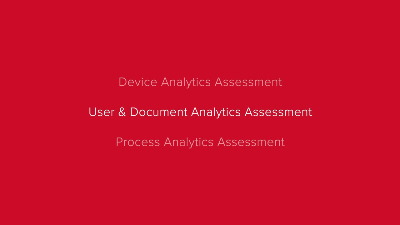 An introduction to User & Document Analytics Assessment (compressed)