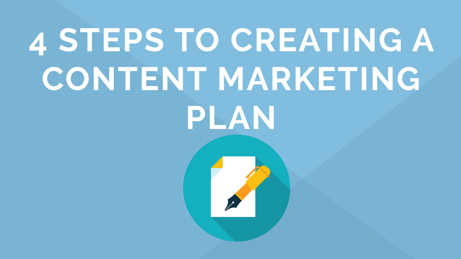 4 Steps to Creating a Content Plan in 15 Minutes