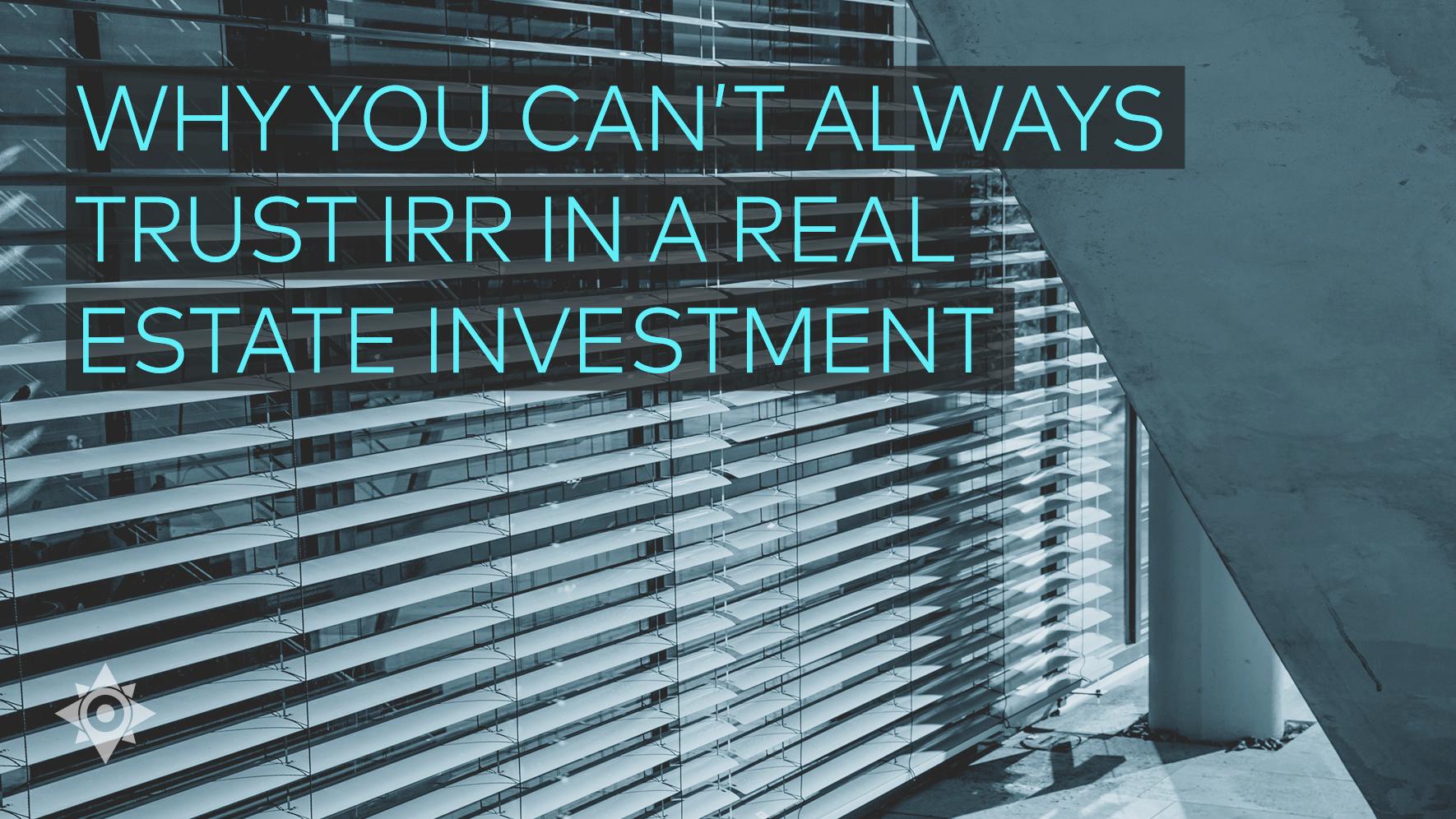 Volatility in Stocks vs Private Real Estate