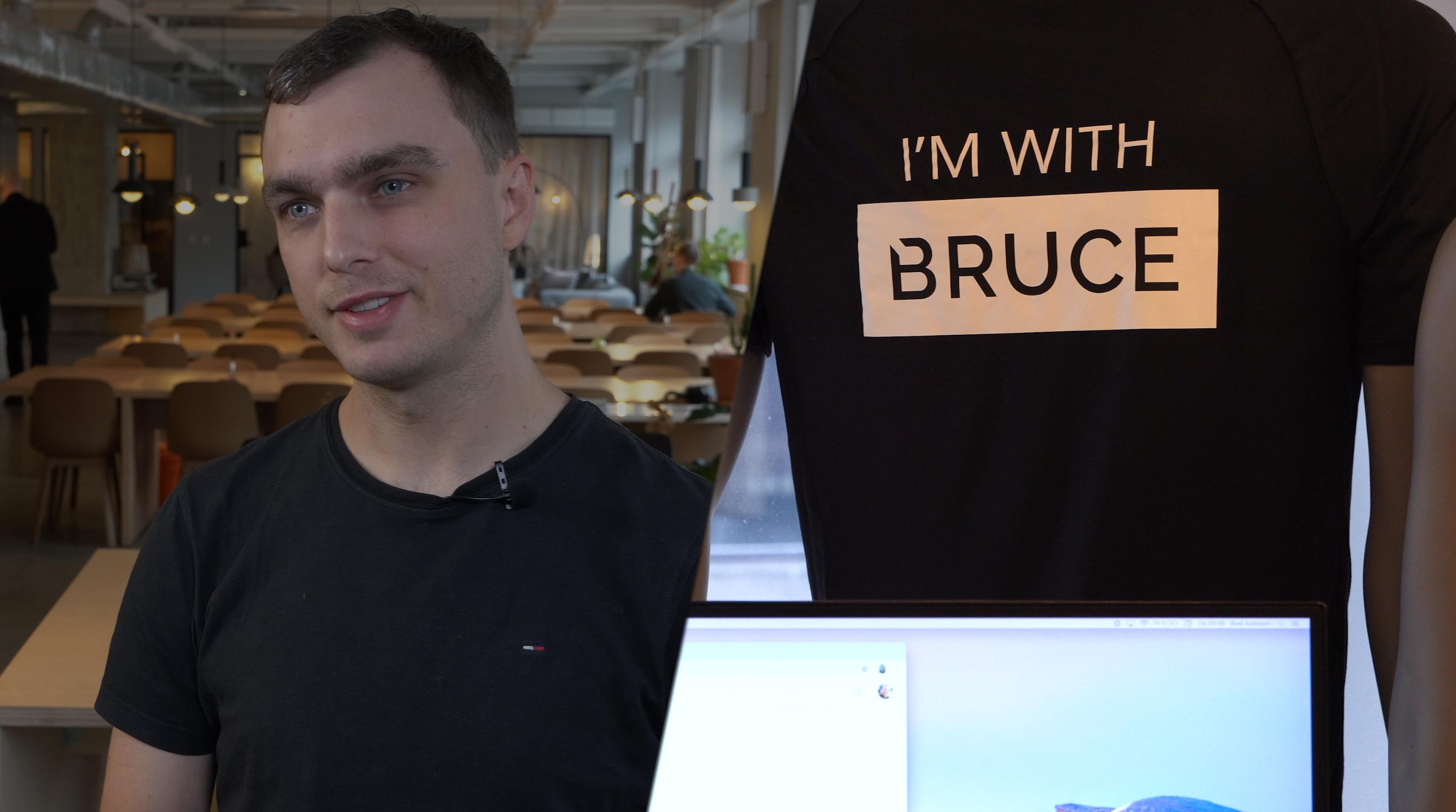 Bruce berättar om PE Accounting textad