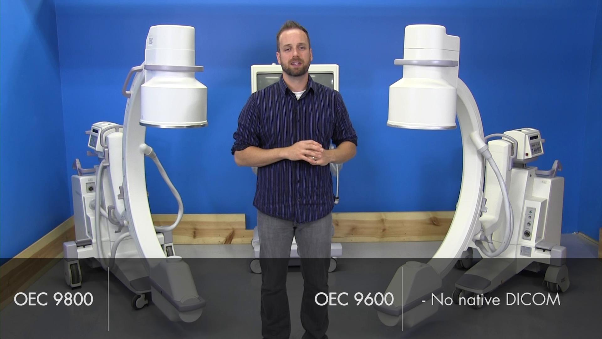 OEC 9800 C-Arm vs OEC 9600 C-Arm Video