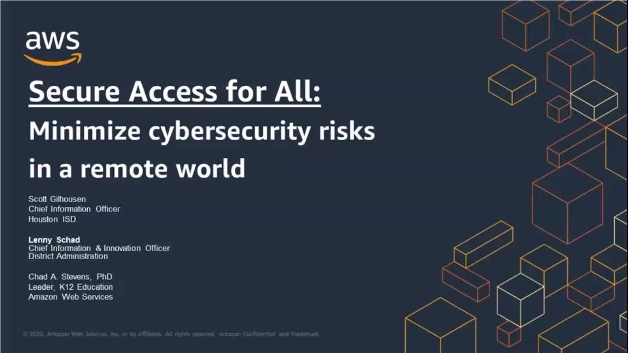 Secure access for all: Minimize cybersecurity risks in a remote world