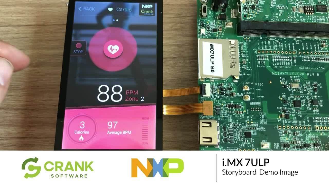 Crank-Storyboard-NXP-imx7ULP-demo