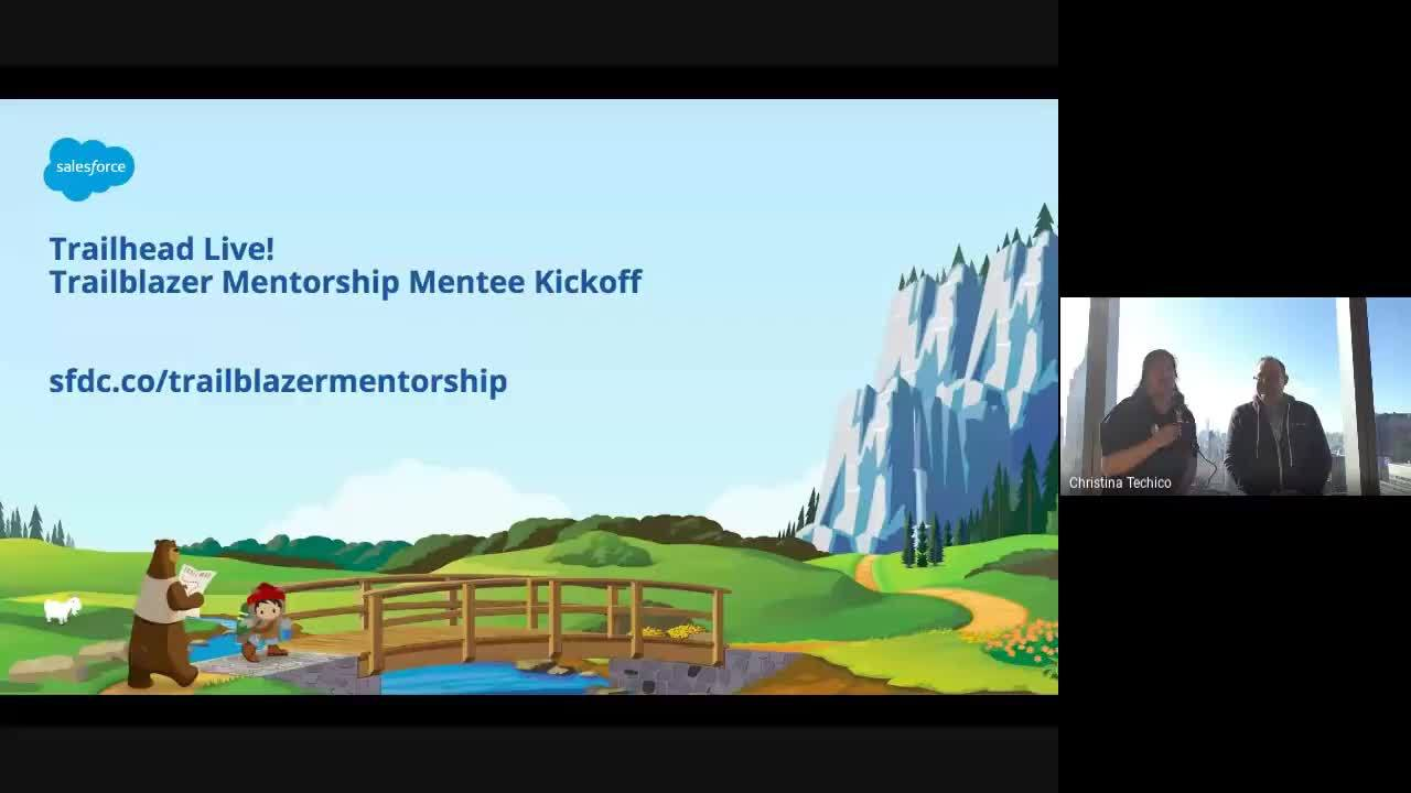 Trailblazer Mentorship: Mentee Welcome, Resources, and Tips for Success