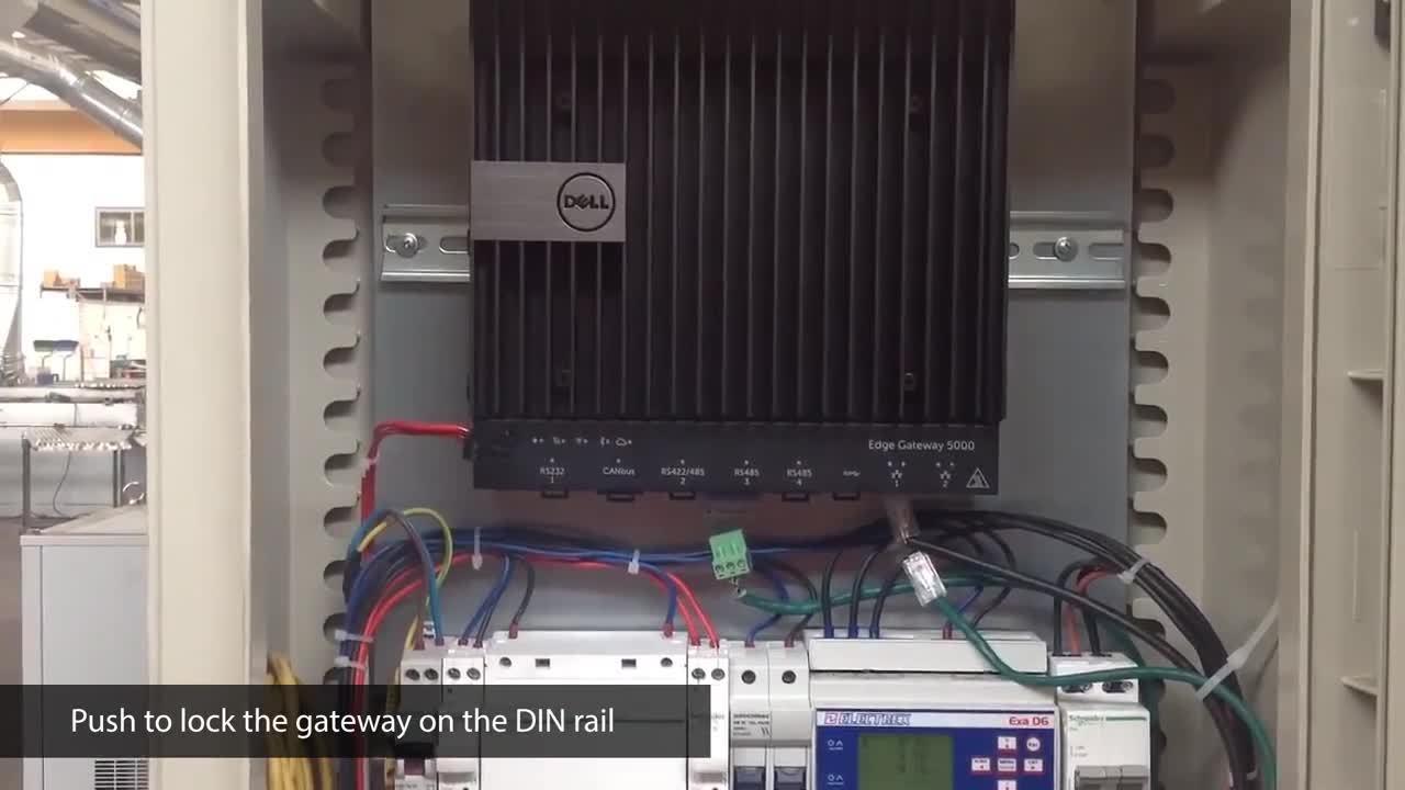 DELL Edge 5000 Gateway Electrical installation