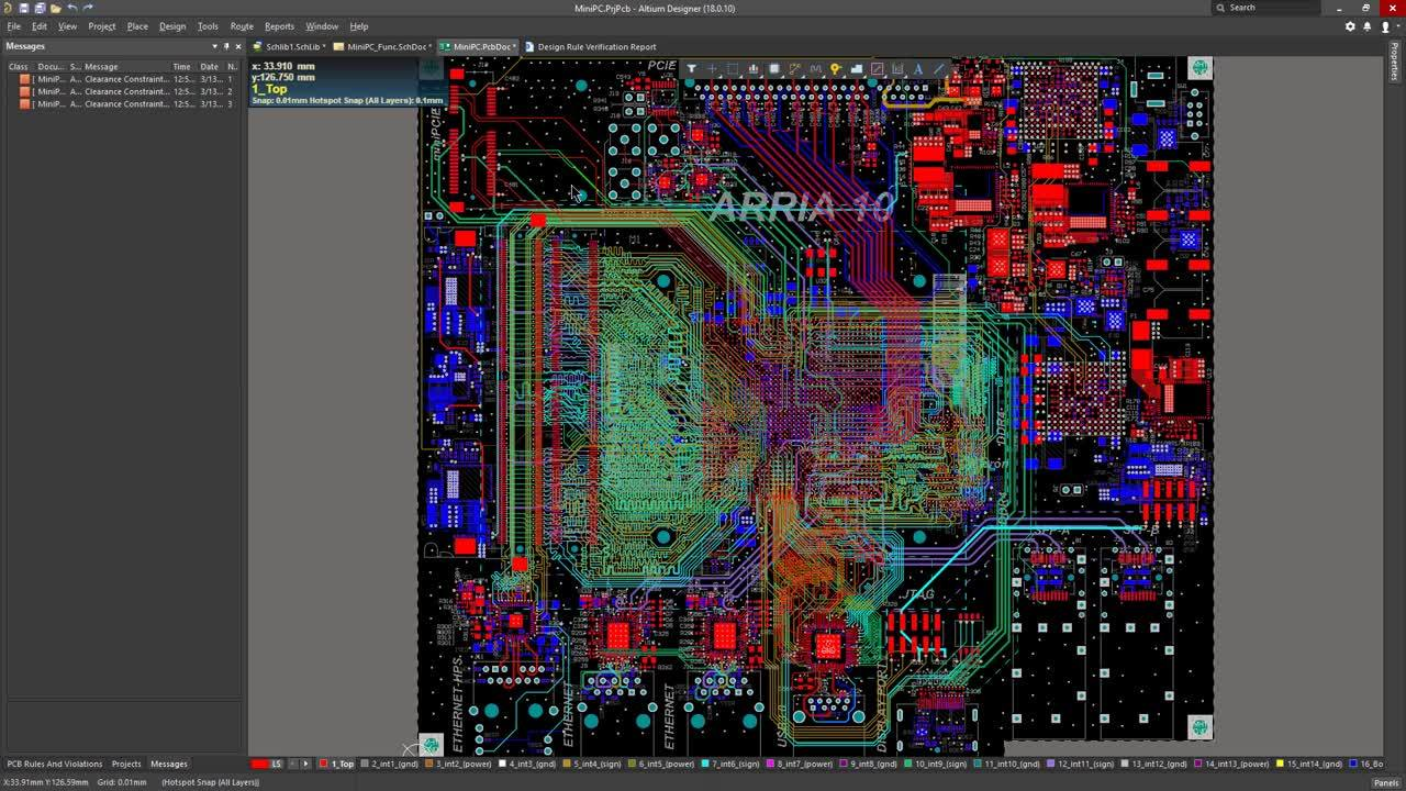 Altium Designer 19 Best Pcb Design Software For Engineers Professional Electronic Circuit Development Services Watch Video