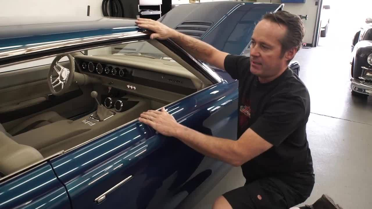 1967 Coronet Taillight, Scoop, and Window Opening by Kindig-It Design