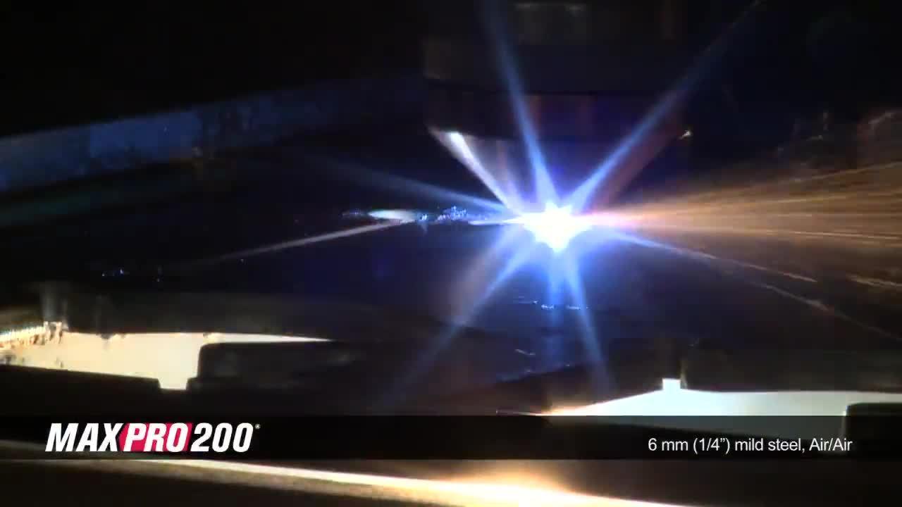 MAXPRO200 6 mm (.25 in) mild steel