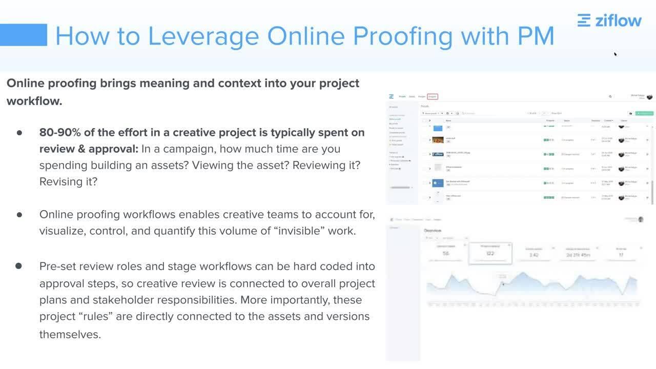 3.31.21 Webinar Recording - Online Proofing vs. Project Management