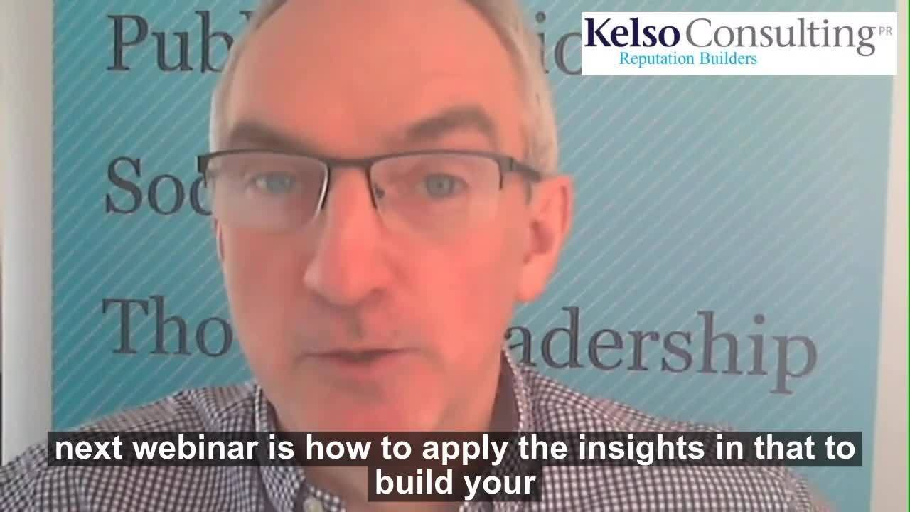 Video for promoting TL webinar
