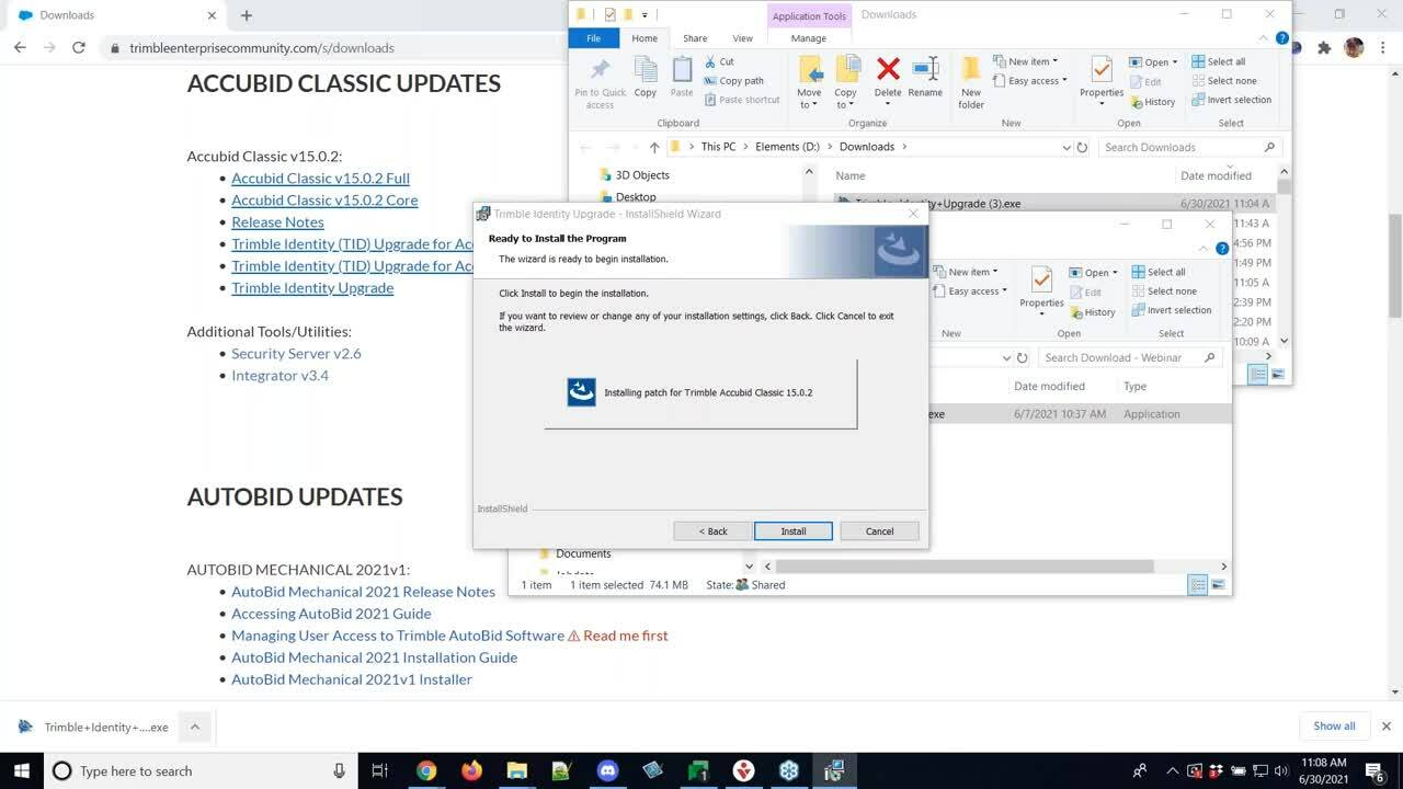 Accubid Classic Office Hours - TID Update Demo