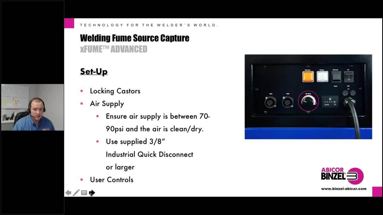 Welding Fume Source Capture with Abicor Binzel xFUME™ Products_01