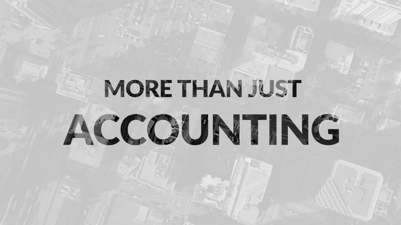 More Than Just Accounting