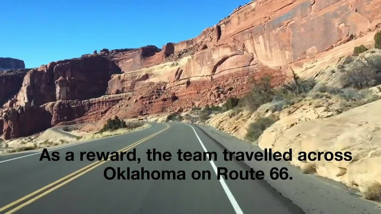 Guy Engineering - Filling Up On Route 66