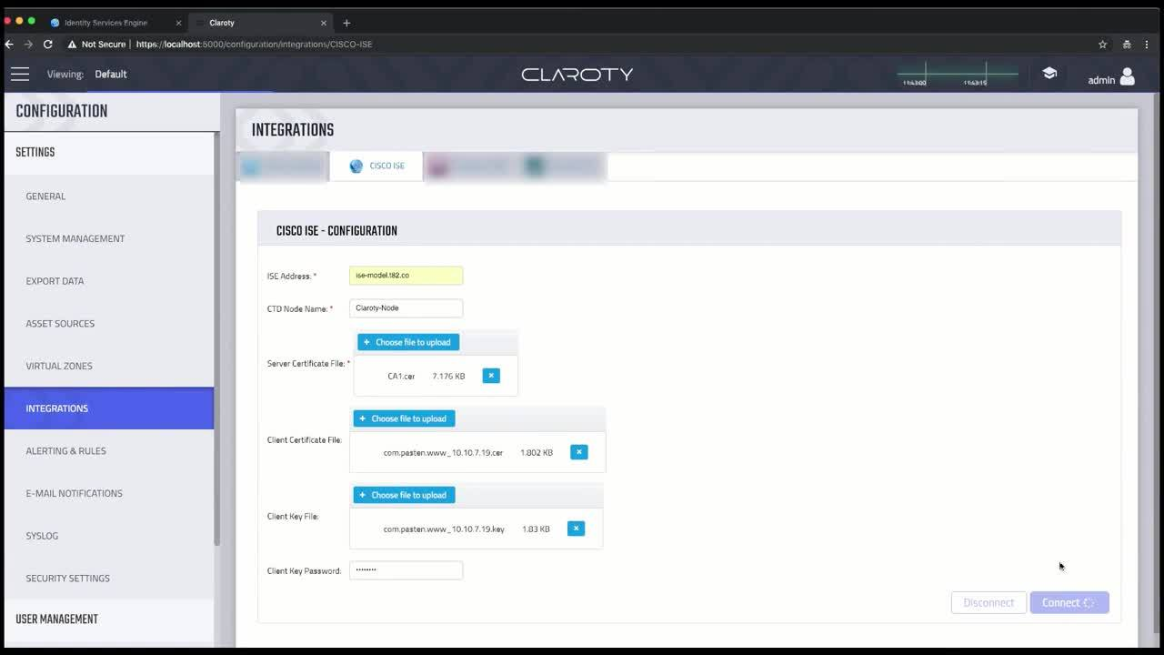 Claroty CTD & Cisco ISE Integration Video