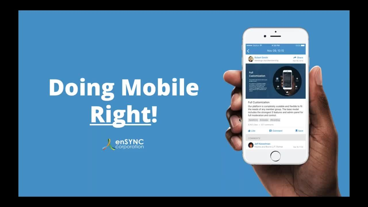 Doing Mobile Right! - 5 min (1)