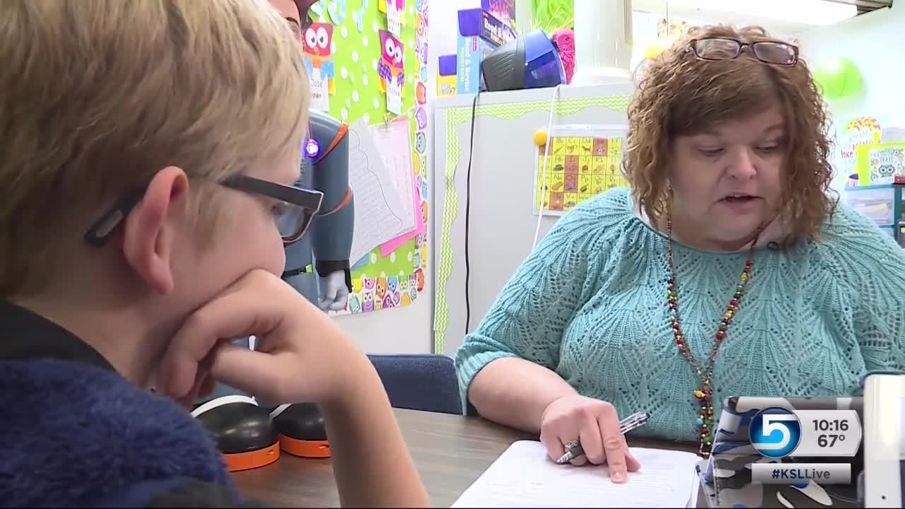 Piute County, Milo helps children with autism make friends