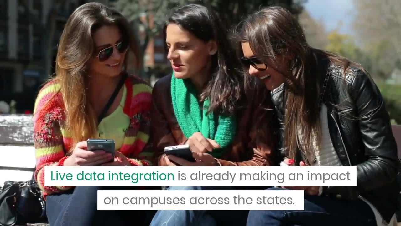 How Live Data Integrations Are Changing the Idea of University Maps