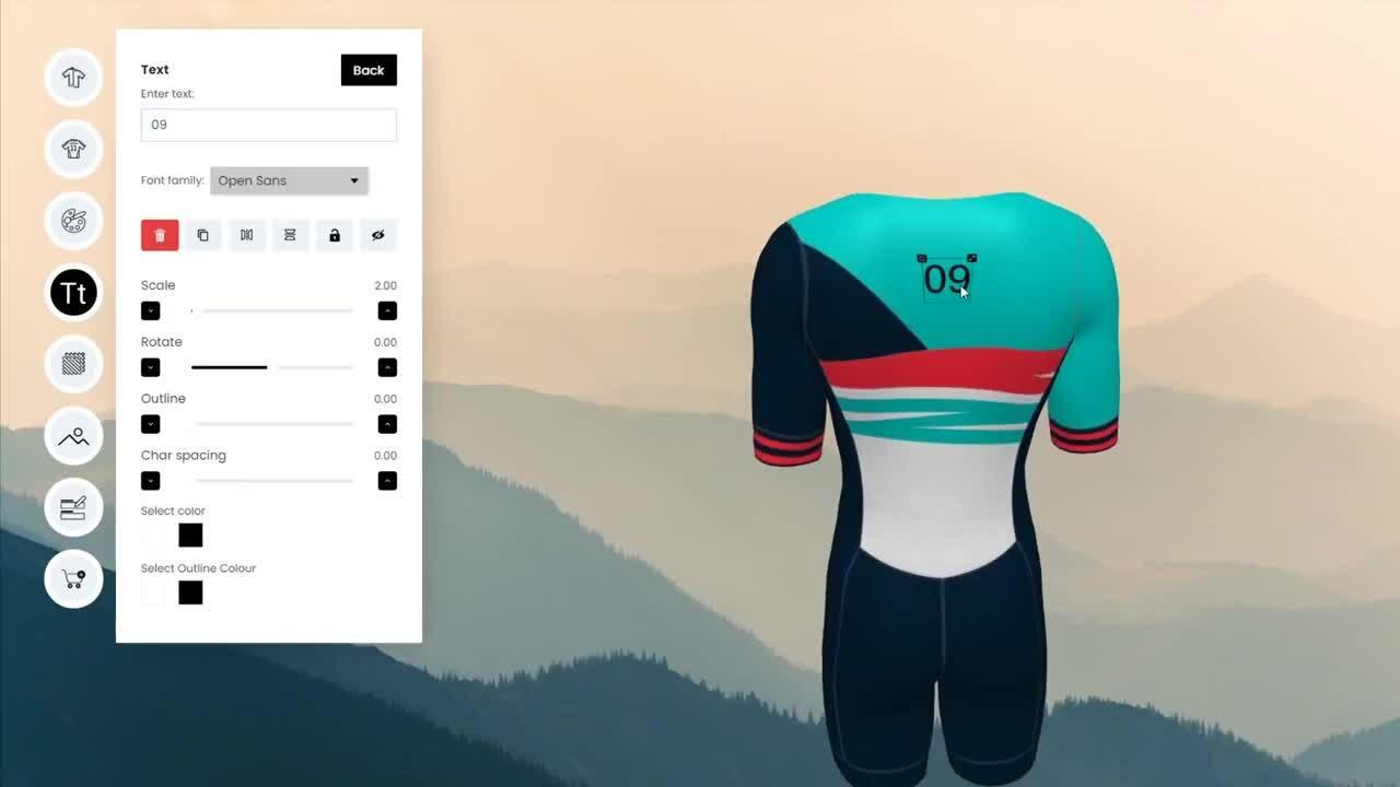 3D Configurator for Triathlon