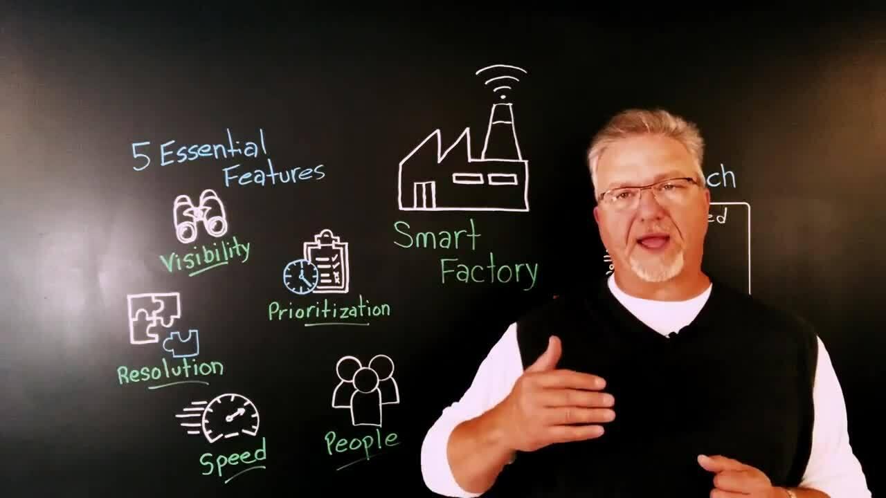 Five Essentials for A Smart Factory