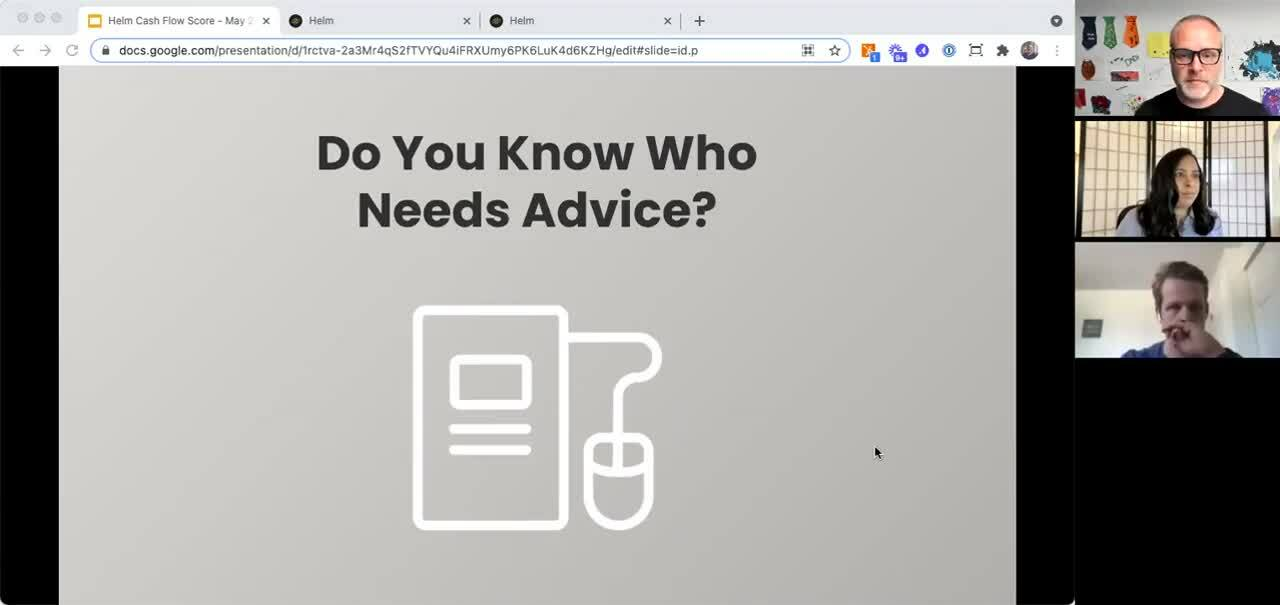 Cash Flow Health Score - Poll - Who Needs Advice