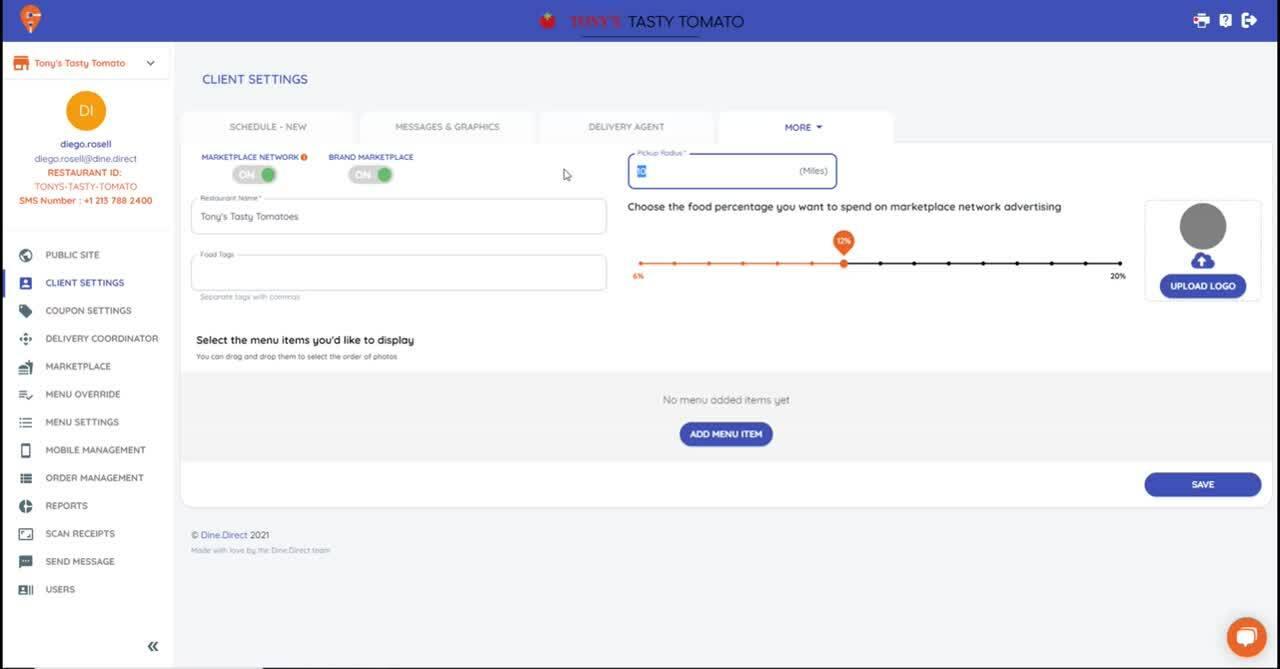 Marketplace User ENG-1