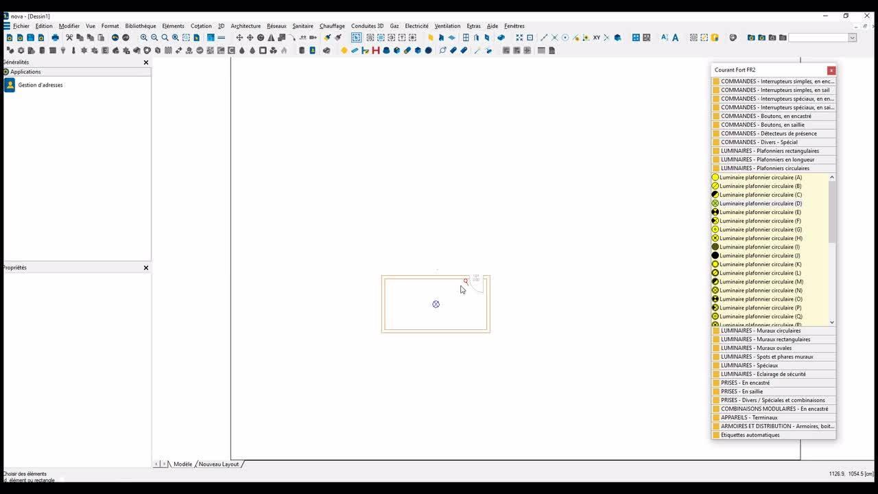 Novatip 13 - Gestion des échelles de symboles électriques