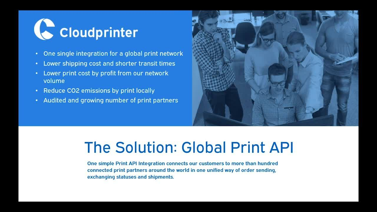 The Print API solution (3)