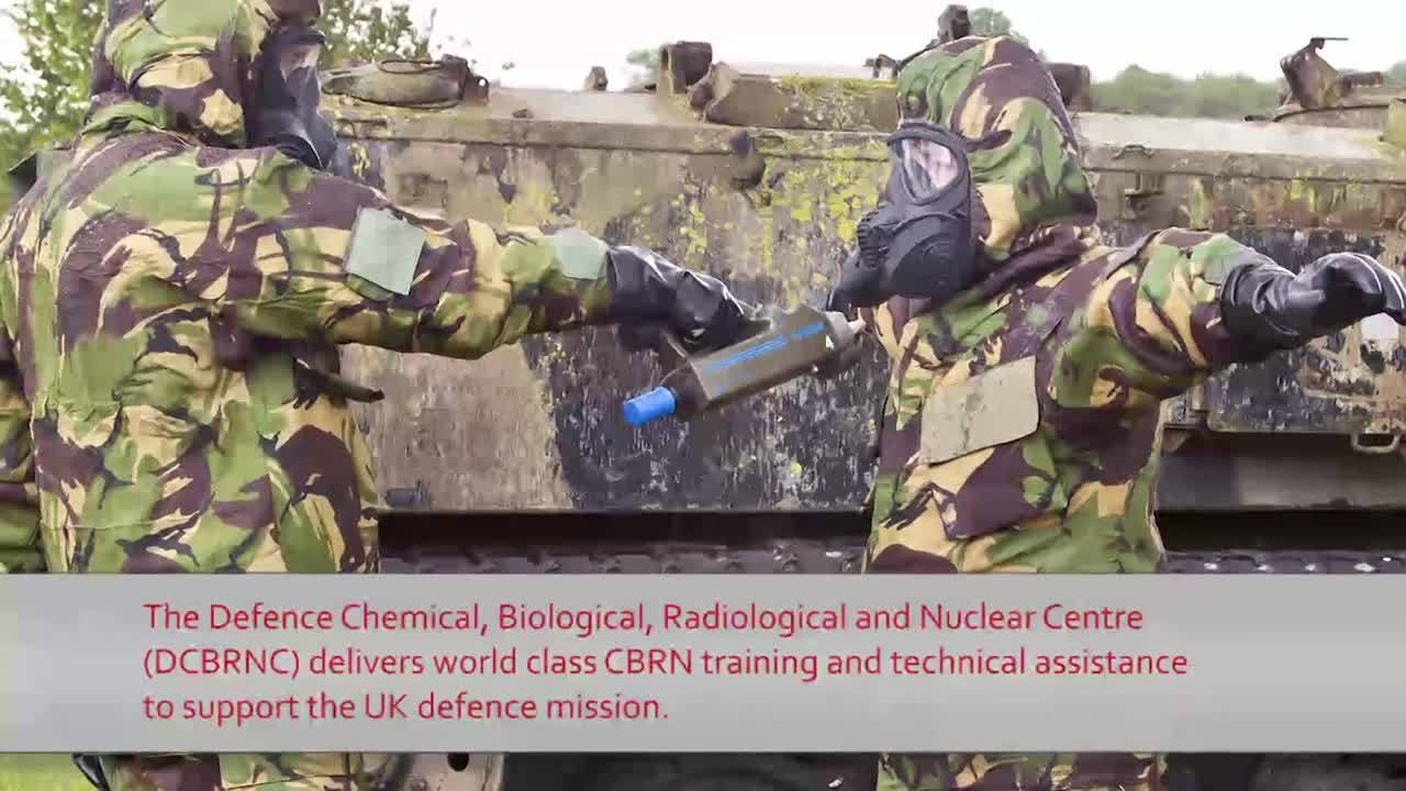 UK MoD CBRN  Simulation Case Study
