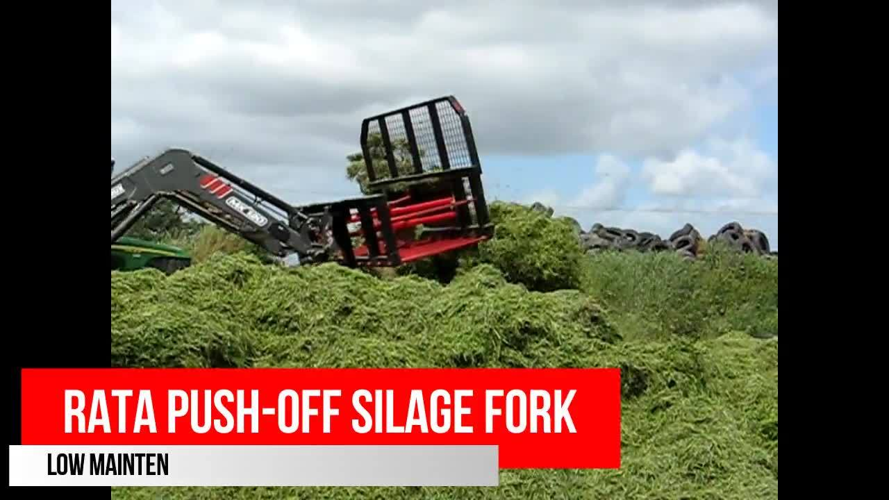 Rata Push-Off Silage Fork
