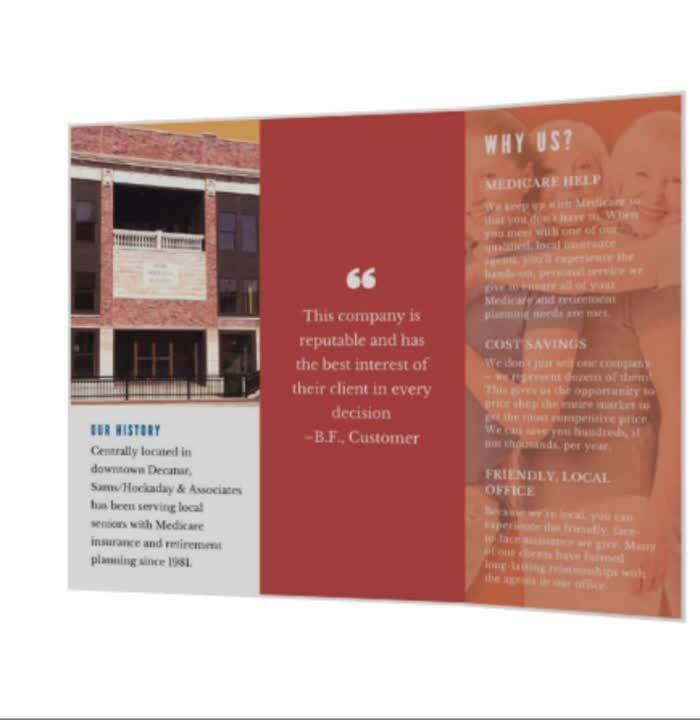brochure video