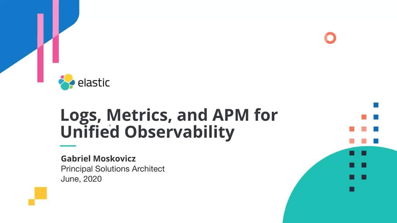 Video for Combinación de logs, métricas y rastreos para observabilidad unificada