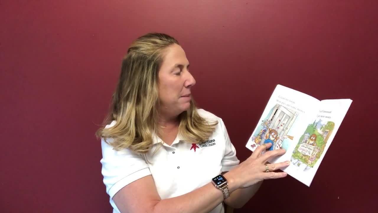 Smart Money Book Reding - Just Saving My Money - Tina Wilson