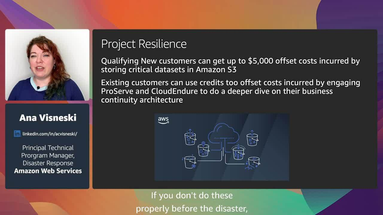 On the frontlines of disaster response with the cloud