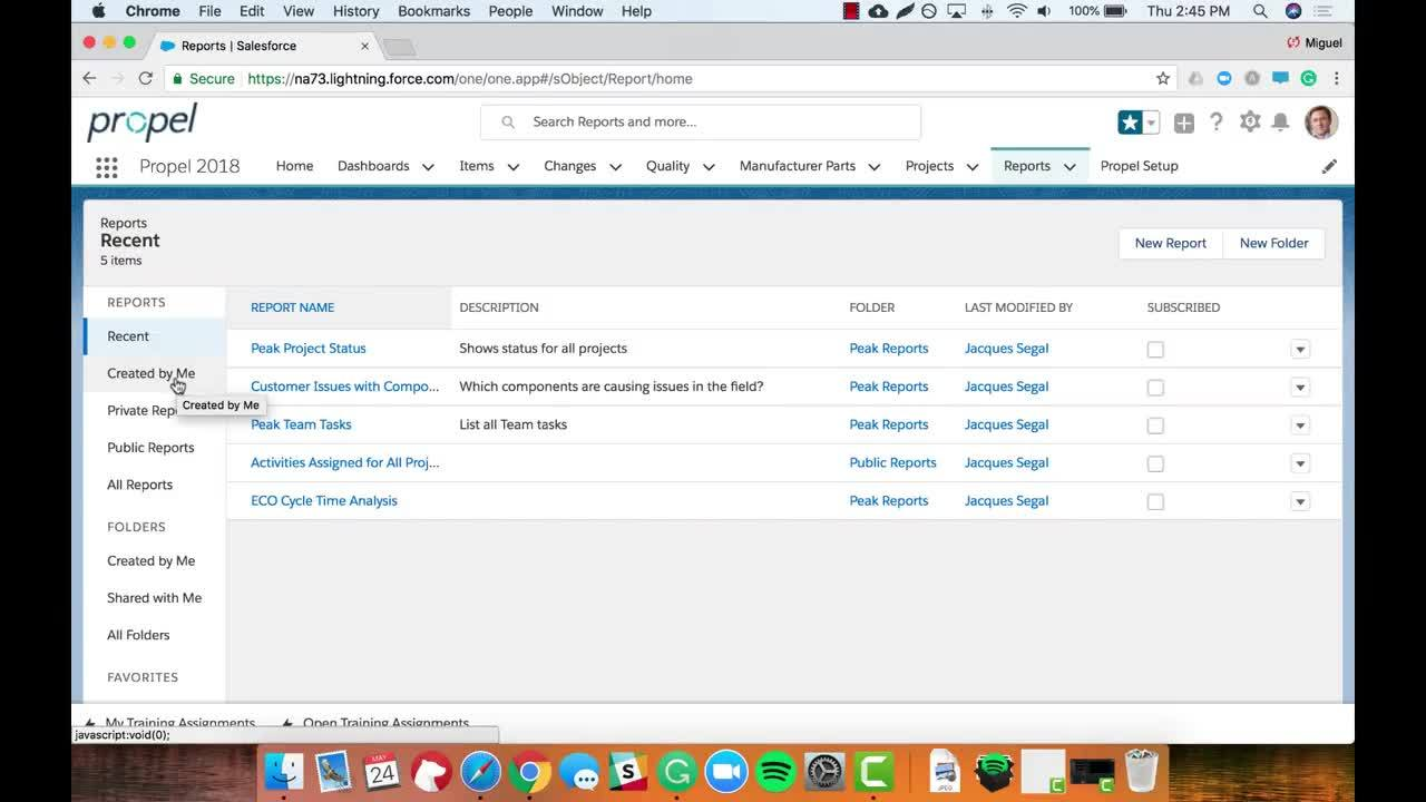 5 Minutes with Propel Reports for PLM, QMS and PIM