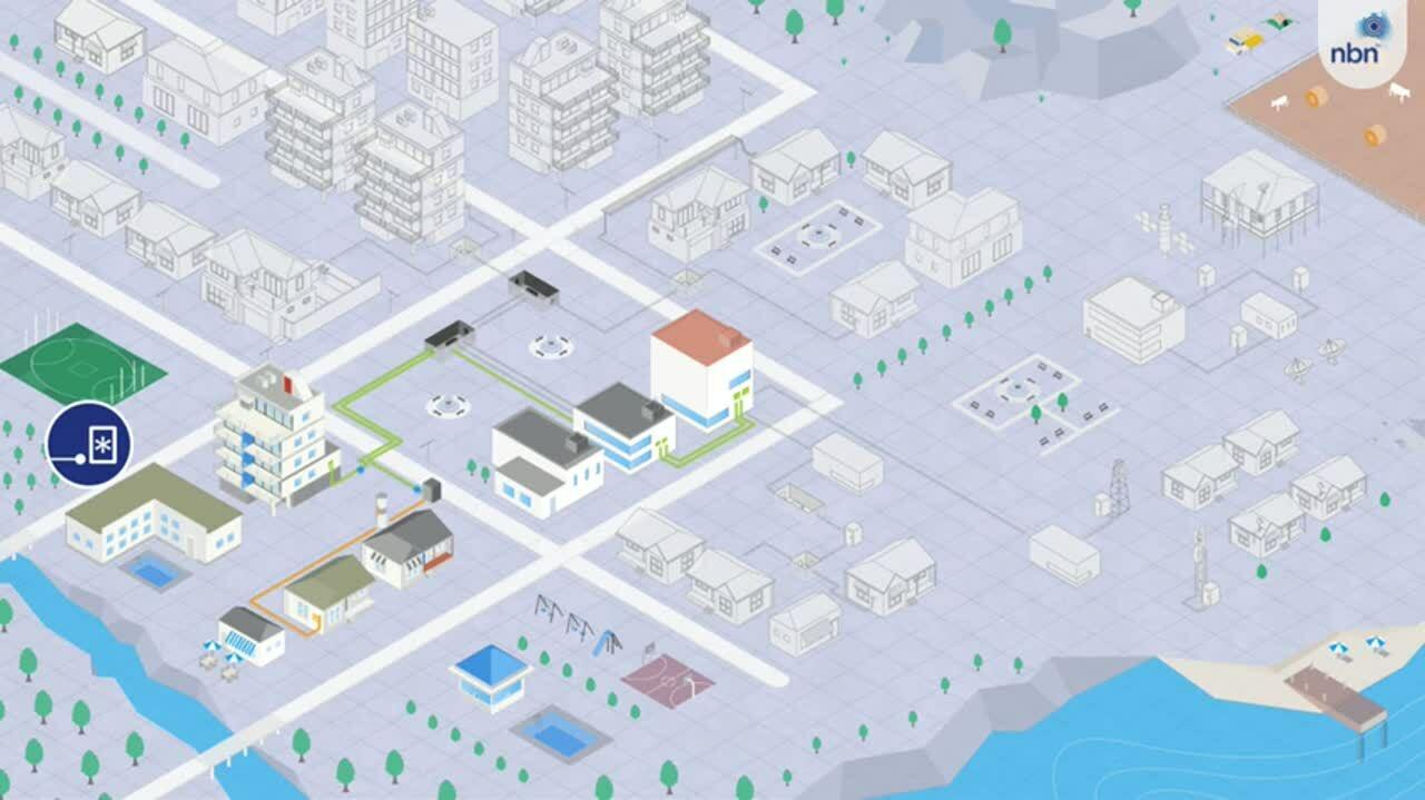 NBN city animation