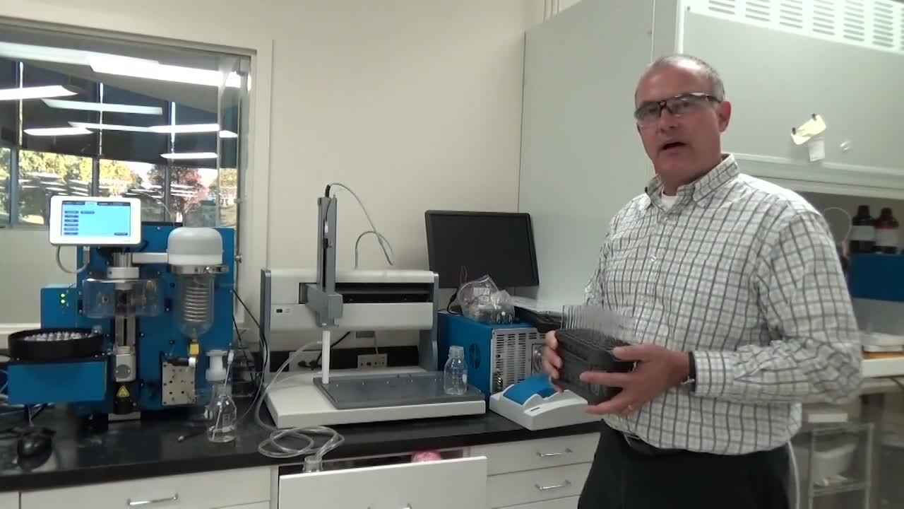 Biotage® V-10 Touch Demo Part 7 of 8 – Working with the Liquid Handler