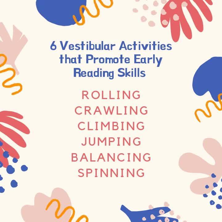 Vestibular activities for reading
