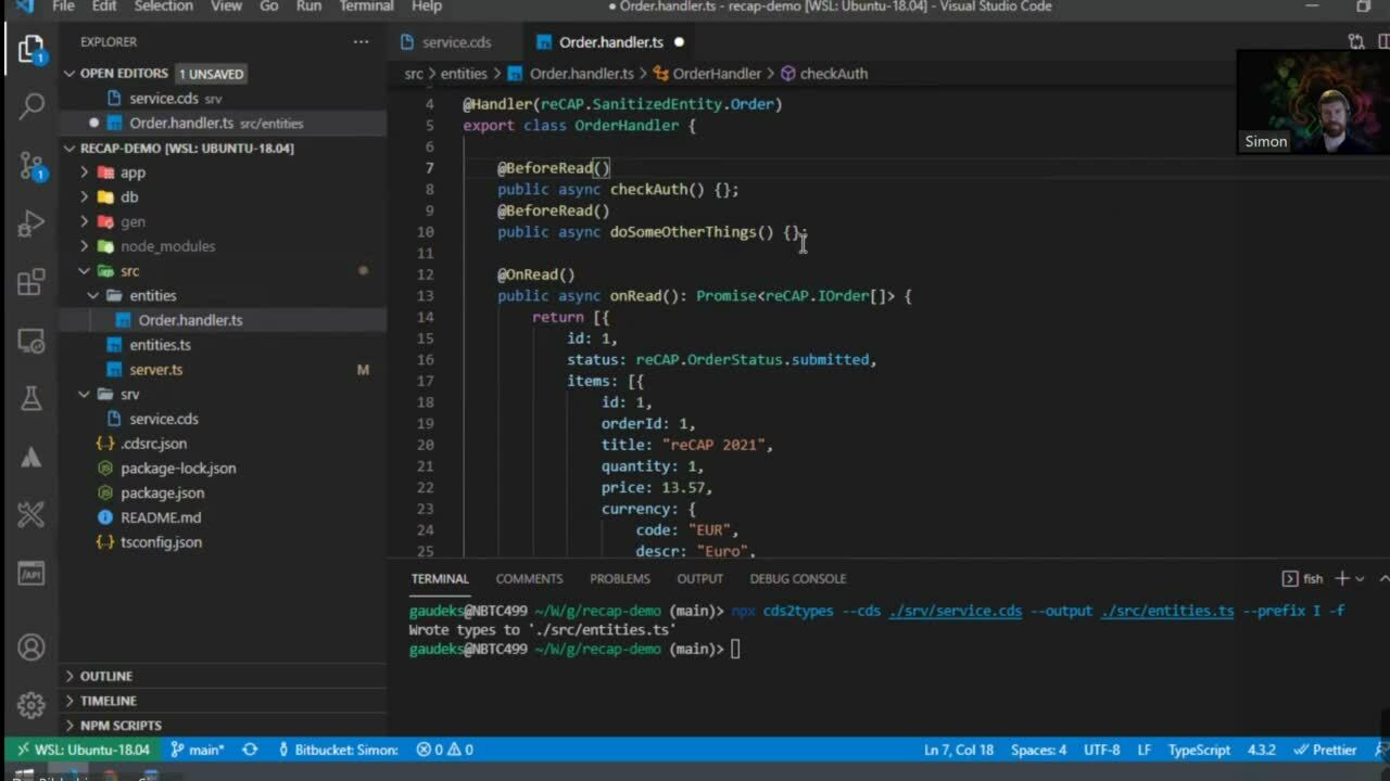 06. Taking CAP to the next level – with TypeScript