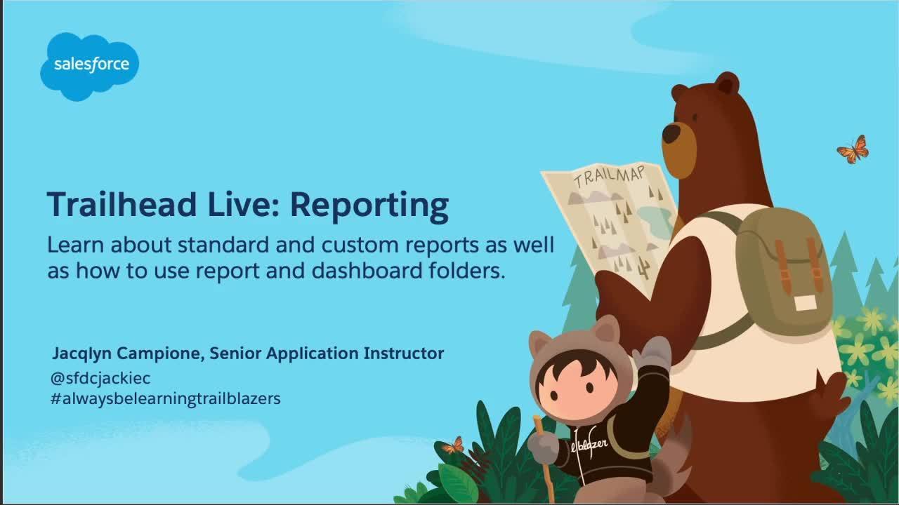 Video: Preparing for Your Admin Certification: Reporting: Standard vs Custom Folders