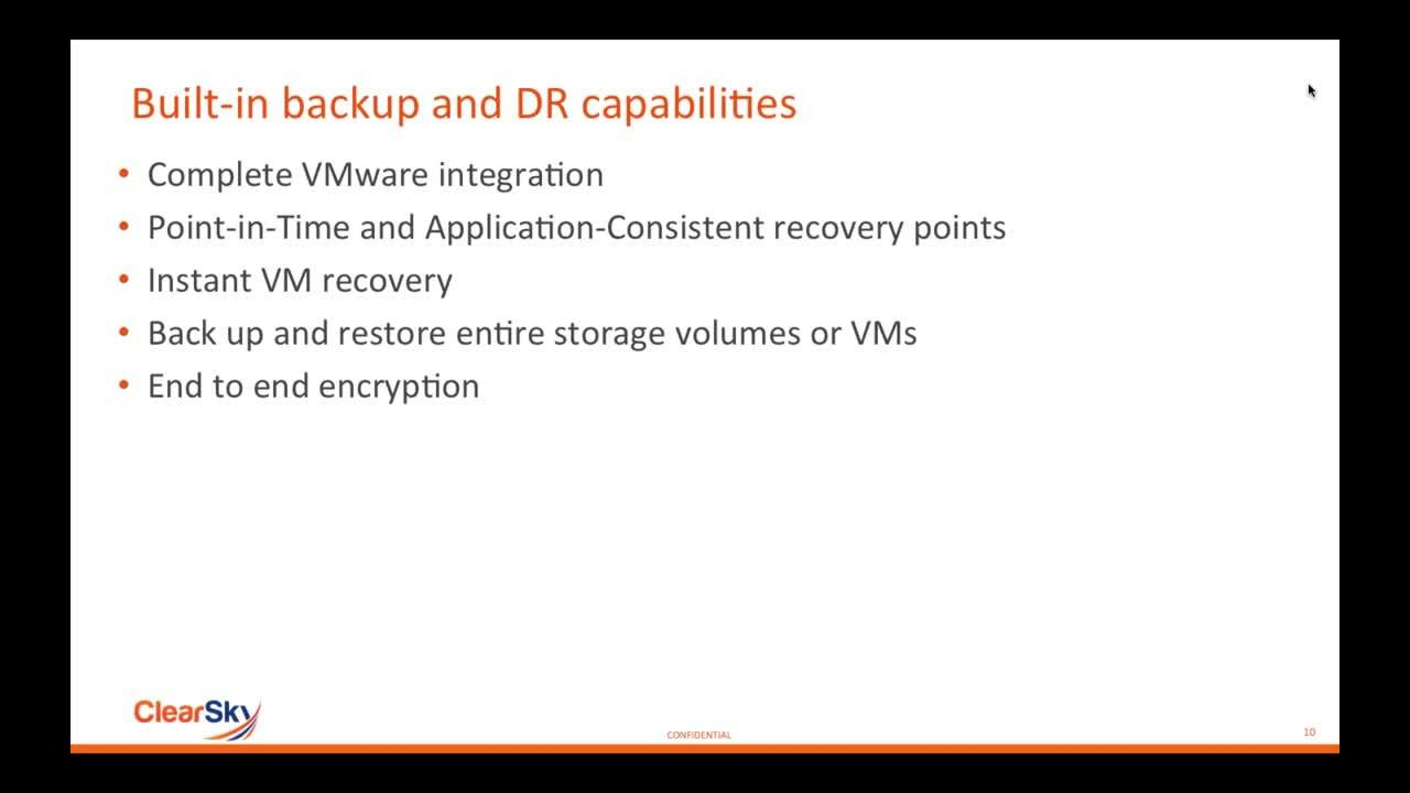 VMUG Webcast_ Using Hybrid Cloud to Patch Up Data Protection Holes