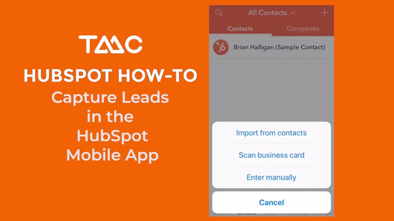 Capture Leads with HS Mobile App_2