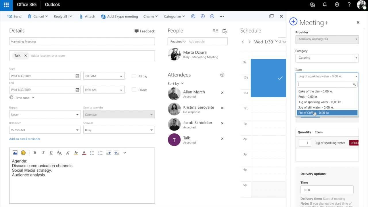 AskCody Meeting Services
