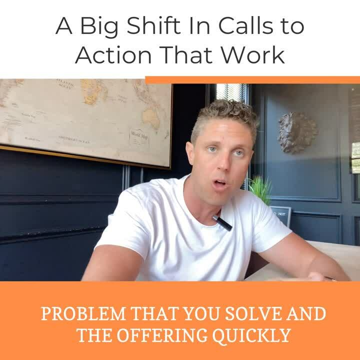 Shift In Calls To Action