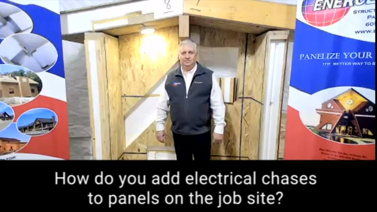 FAQ_Web_Can you add an electrical chase to panels on the job site