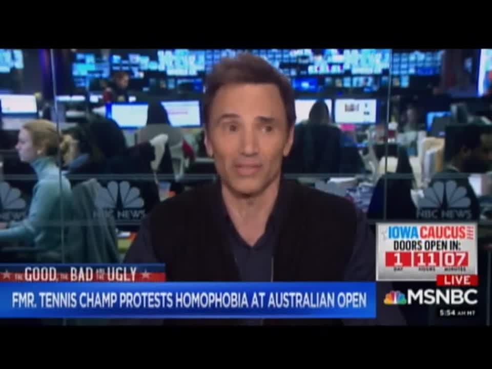Paul Mecurio on MSNBC