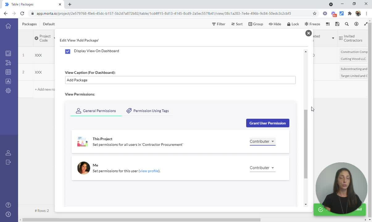 How to Build - Contractor Procurement - 6 - Create Form View