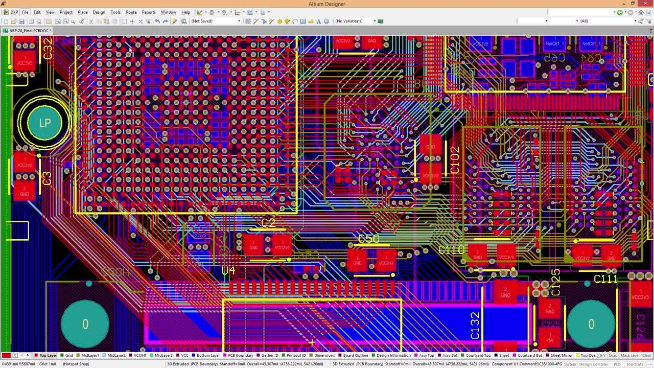 Features | Computer Aided PCB Design Software