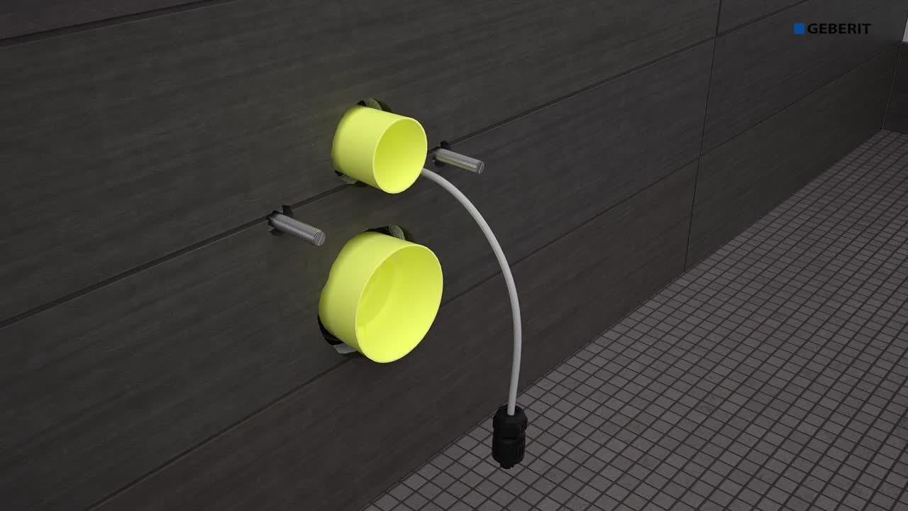 Geberit AquaClean Tuma - Installation