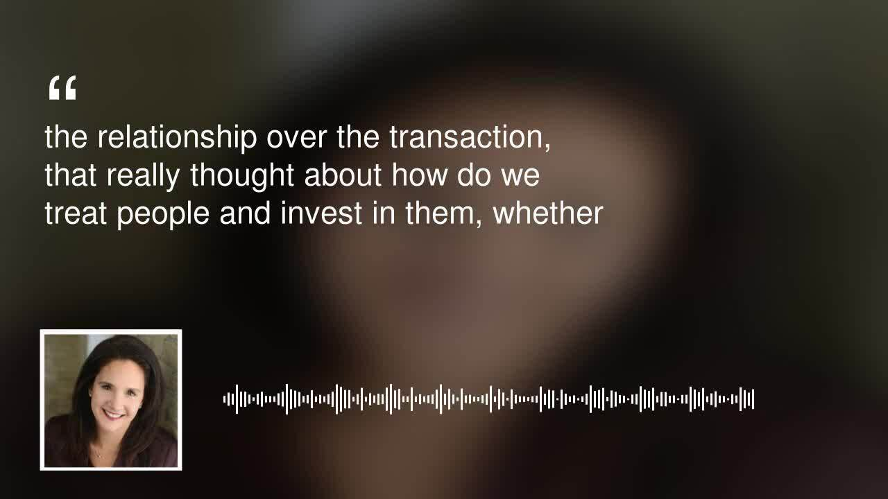 Relationship over transaction